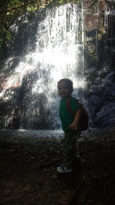Archer at Silver Falls
